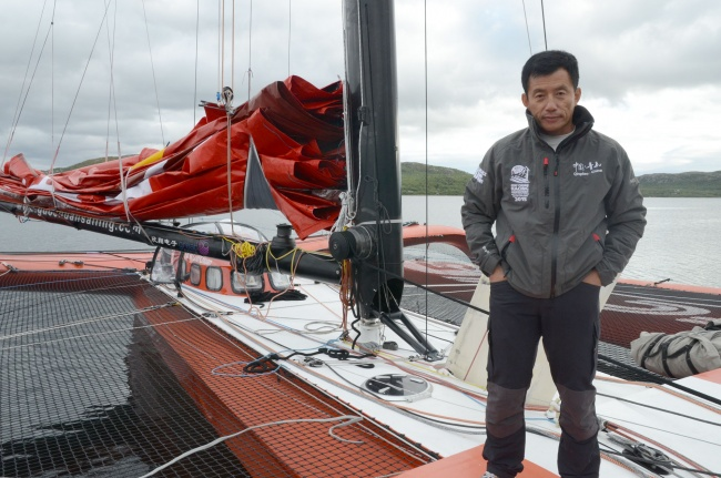 Guo Chuan intends to set records on the Northern Sea Route. (Atle Staalesen/Barents Observer)