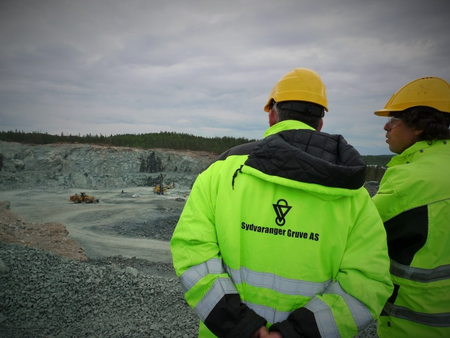 Sydvaranger is a corner stone company in Kirkenes, employing about 400 people. (Thomas Nilsen/Barents Observer)
