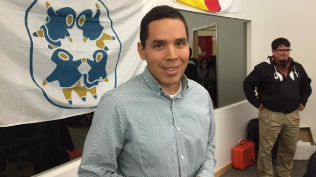 Natan Obed (pictured above in Cambridge Bay, Nunavut) was elected president of Inuit Tapiriit Kanatami last week. (Mitchel Wiles/CBC)