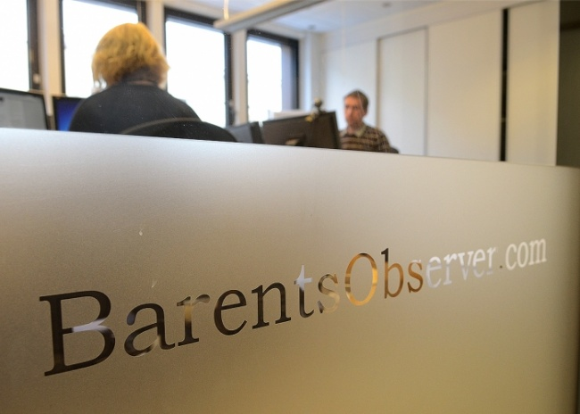 """We are one less person, but will do our best keep up our work with BarentsObserver"", editorial staff members Trude Pettersen and Atle Staalesen say. (Barents Observer)"