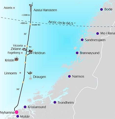 The Polarled Pipeline. (Statoil)