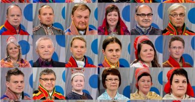 Candidates for the next Sámediggi. (Yle)