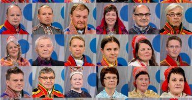 Candidates for the next Sámediggi. (Yle)