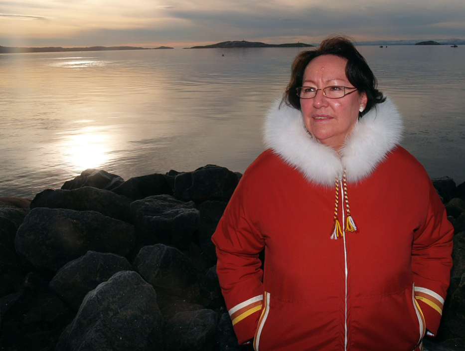 Sheila Watt-Cloutier in Iqaluit, Nunavut in 2007. This week she received an award in Sweden for her work defending Inuit rights. (Chris Windeyer/The Canadian Press)