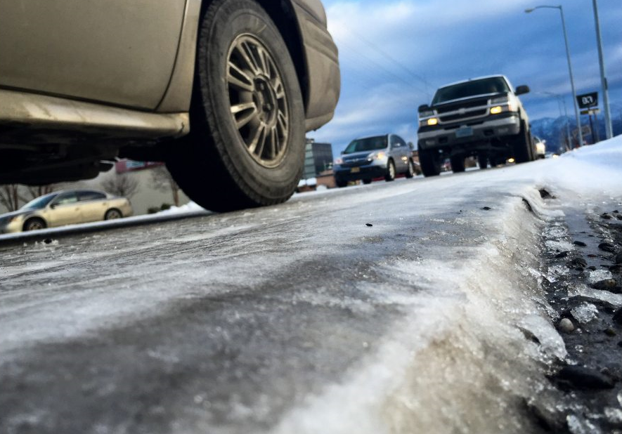 Are budget cuts responsible for poor winter road conditions in Anchorage, Alaska? (Scott Jensen / Alaska Dispatch News)