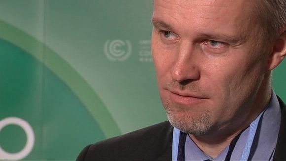 Finland's chief negotiator Harri Laurikka. (Petteri Juuti / Yle)