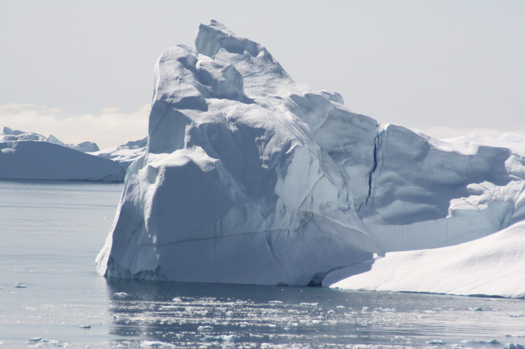 Greenland's glaciers are already discharging huge amounts of ice into the ocean. (Irene Quaile)