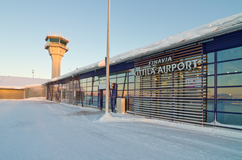 Kittila Airport in Finnish Lapland. Tourism from Asia is giving Finland's Arctic Lapland region a boost after a steep decline in Russian visitors. (iStock)