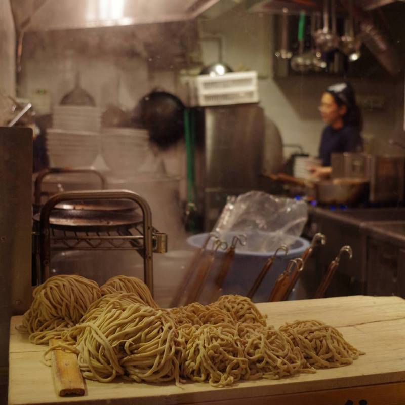 Arctic climate change: Blame it on the noodles. Photo: Tokyo, Japan. March 2014. (Mia Bennett)