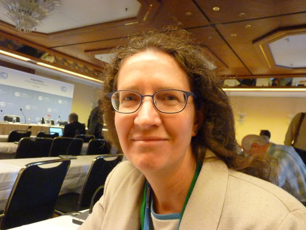 Pam Pearson, Director of ICCI. (Irene Quaile)
