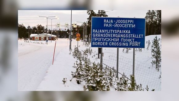 The Raja-Jooseppi border crossing point with Russia in Finnish Lapland. (Vesa Toppari / Yle)