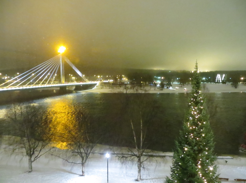 Rovaniemi, a city in Finland's Far North, is pictured above. A story looking at how to cope with 24-hour darkness in Arctic communities was among your top-read stories this week. (iStock)