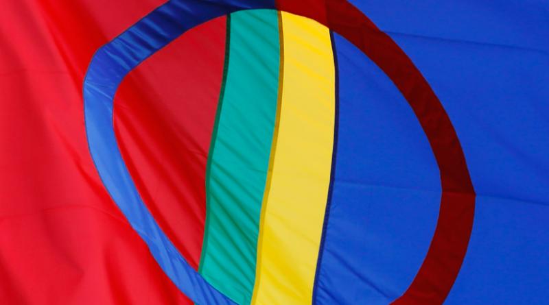 The Saami flag. (iStock)