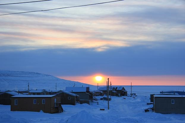 Ulukhaktok in Canada's Northwest Territories. How will decisions made at COP21 affect people living in Arctic communities like this one? (Eilís Quinn/Eye on the Arctic)