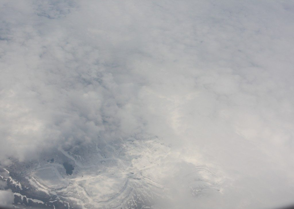 Clouds over ice can be confusing. (Irene Quaile, Greenland)