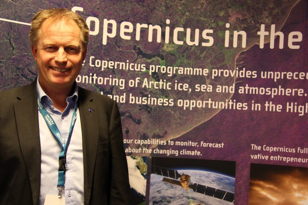 Pål Brekke, a senior adviser at the Norwegian Space Centre. (Eilis Quinn/ Eye on the Arctic)