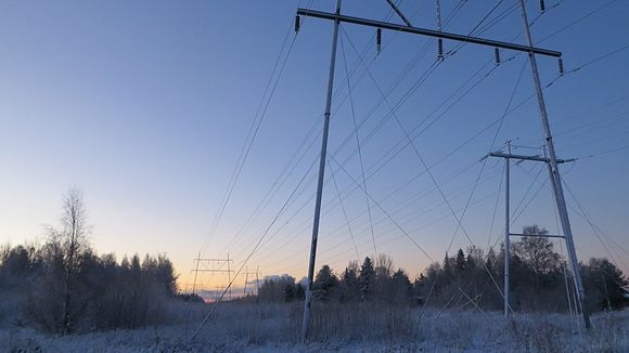 Temperatures in Pori, Finland dropped to nearly minus 20 degrees Celsius on Tuesday when power was knocked out of approximately 2000 homes. (Riikka Rautiainen/ Yle)