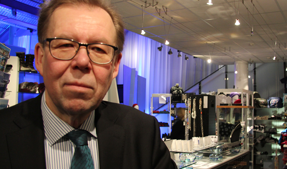 Companies can't afford not to respect environmental protection says Timo Rautajoki, the president & CEO of the Lapland Chamber of Commerce. (Eilis Quinn/Eye on the Arctic)