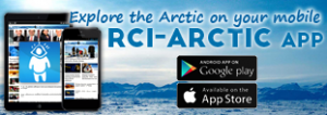 Explore the Arctic on your mobile • RCI-ARCTIC APP • Android app on Google Play • Available on App Store