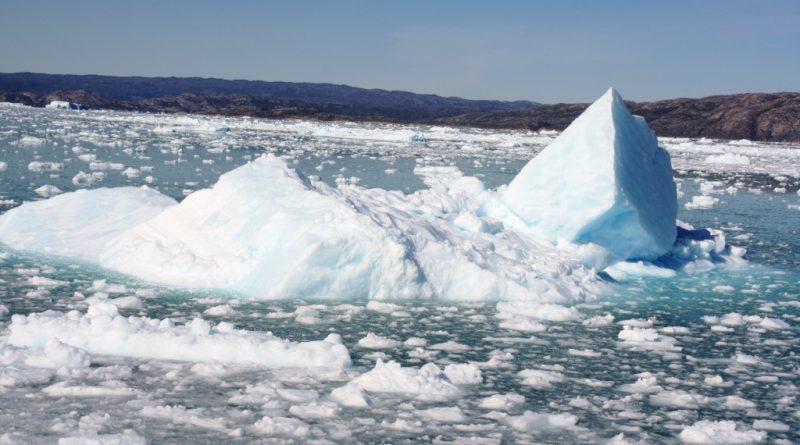 Melting ice off Greenland. (Irene Quaile)