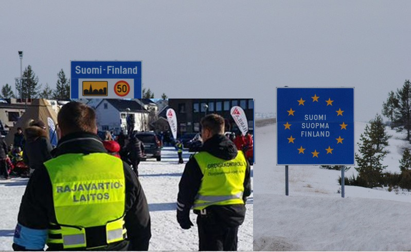 The border in Finnish Lapland. (Thomas Nilsen/The Independent Barents Observer)