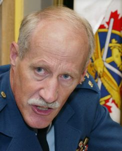Lt. Gen. (Ret) Ken Pennie, former deputy commander-in-chief of Norad. Wednesday, June 12, 2002 in Montreal. (Paul Chiasson/CP PHOTO)