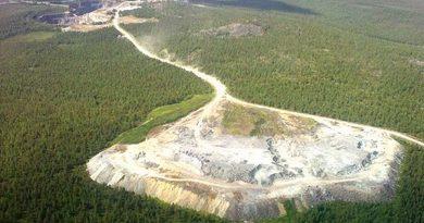 The Pahtavaara gold mine in 2009. (Matti Torvinen/Yle)