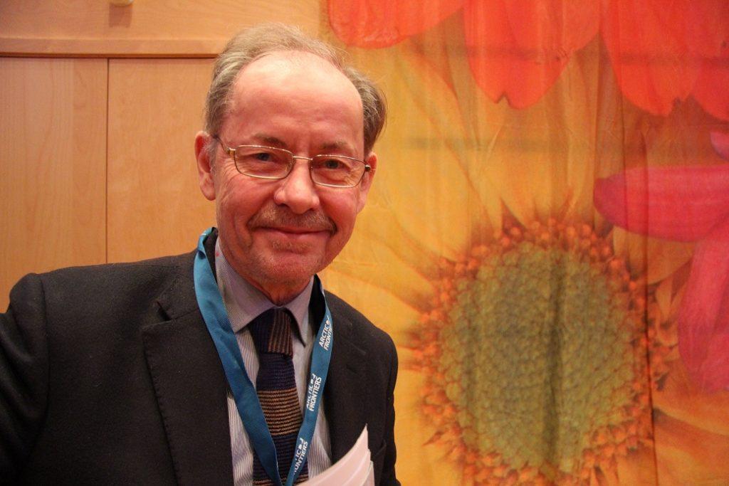 Grímur Valdimarsson, a senior advisor at Iceland's Ministry of Industries and Innovation (Eilís Quinn/Eye on the Arctic)
