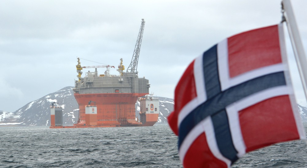 Statoil holds a 35 percent share in the Goilat field, Norway's first oil production in the Barents Sea. (Thomas Nilsen/The Independent Barents Observer)