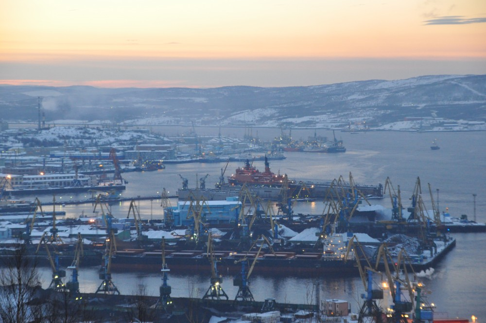 December day in Murmansk. Photo: Trude Pettersen