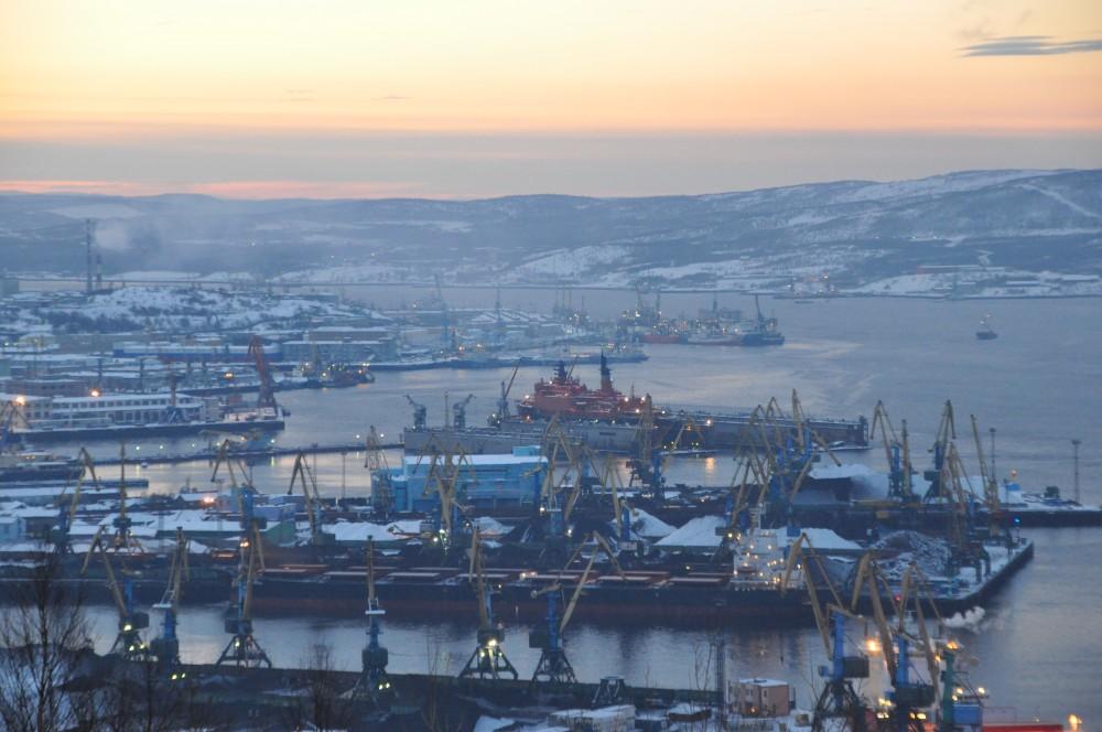 December day in Murmansk. Photo: Trude Pettersen