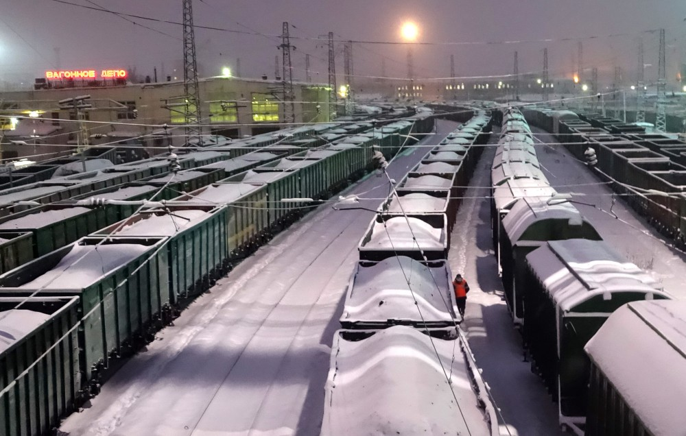 The Murmansk Transport Hub remains on the list of top Russian state investment projects. (Atle Staalesen/The Independent Barents Observer)