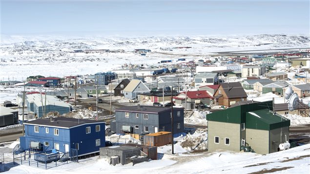 A scene from Iqaluit, Nunavut, Saturday, April 25, 2015. (Paul Chiasson/The Canadian Press)