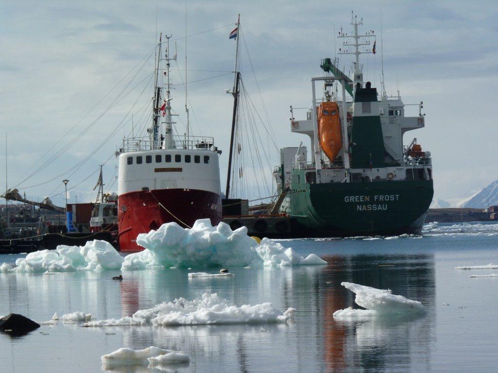 Melting ice, easier ship access. (Irene Quaile, Svalbard)