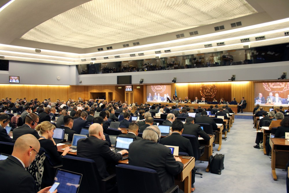 2016 - IMO Marine Environment Protection Committee (MEPC 69). Photo courtesy of IMO