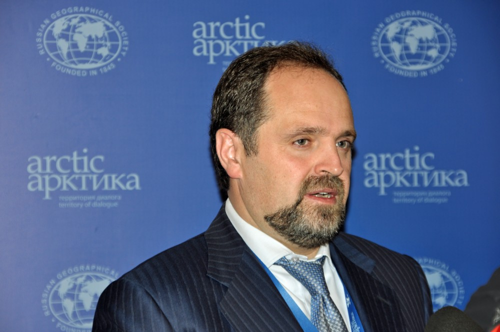 Russian Minister of Resources and Ecology Sergey Donskoy. (Trude Pettersen / The Independent Barents Observer)