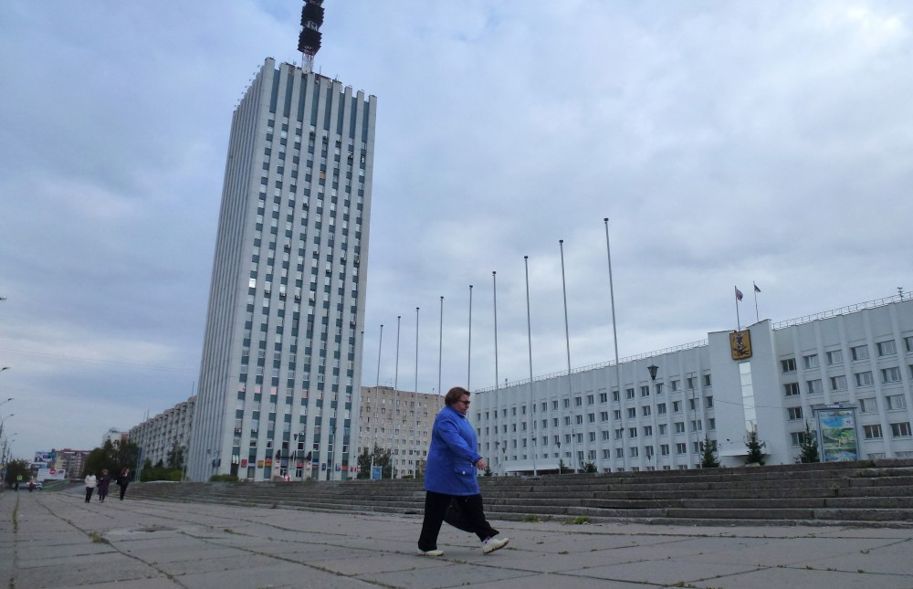 Downtown Arkhangelsk. Photo: Atle Staalesen