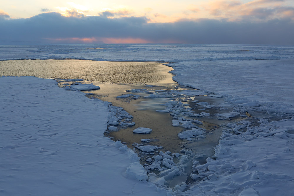 Ice and open water. Nick Cobbing/Greenpeace