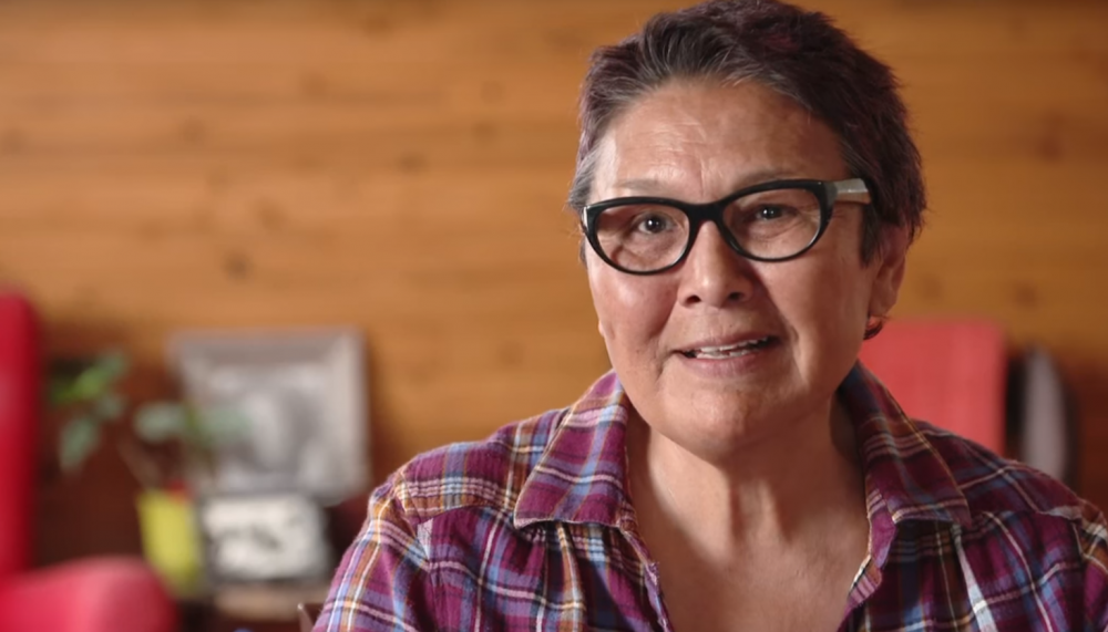 Edna Elias appears in a still from the documentary Edna's Bloodline, which traces her Swedish ancestry. According to filmmaker Eva Wunderman, Elias's great grandfather was a Swede who trapped and hunted, established a Hudson's Bay post and sailed the Northwest Passage. Photo Credit: Wunderman Film Inc./Youtbube