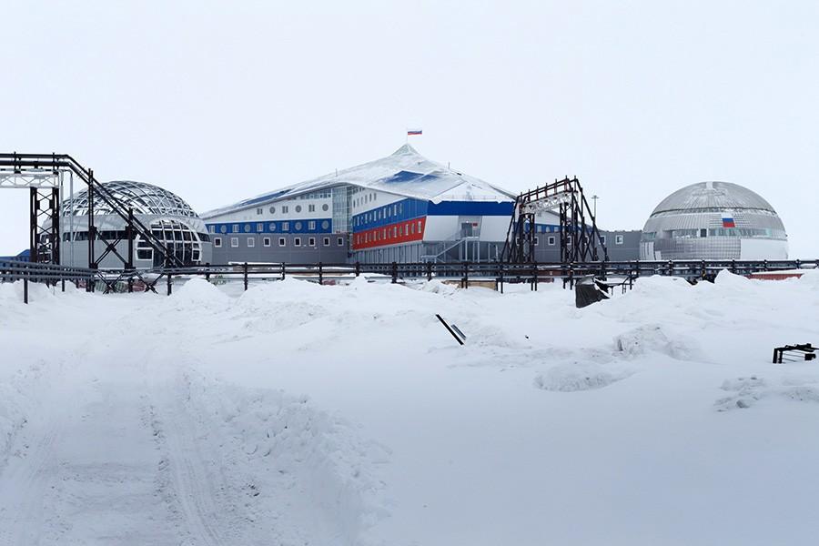 Russia is building a new base on Franz Josef Land. Photo: Vadim Savitsky/mil.ru