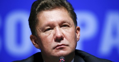 Alexei Miller, chief executive of Russia's top natural gas producer, Gazprom, attends a news conference after an annual general shareholders meeting of the company in Moscow, Russia, June 26, 2015. Sergei Karpukhin/REUTERS