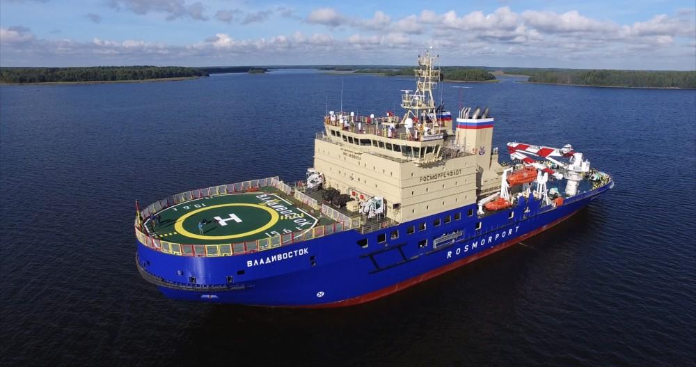 """Vladivostok"" was delivered in December 2015. Photo: Vyborg Shipyard"