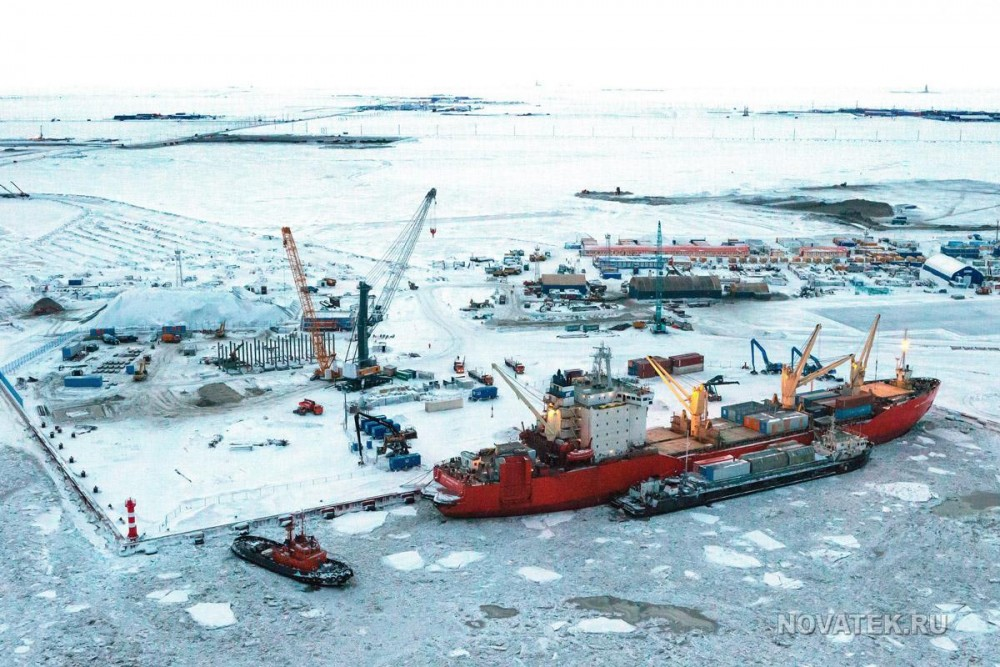 The project is on track, the owners of the Yamal LNG say. Photo: Novatek.ru