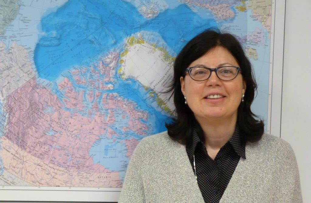 Mary-Lynn Dickson, head of Canada's UNCLOS Program. (Courtesy Natural Resources Canada)