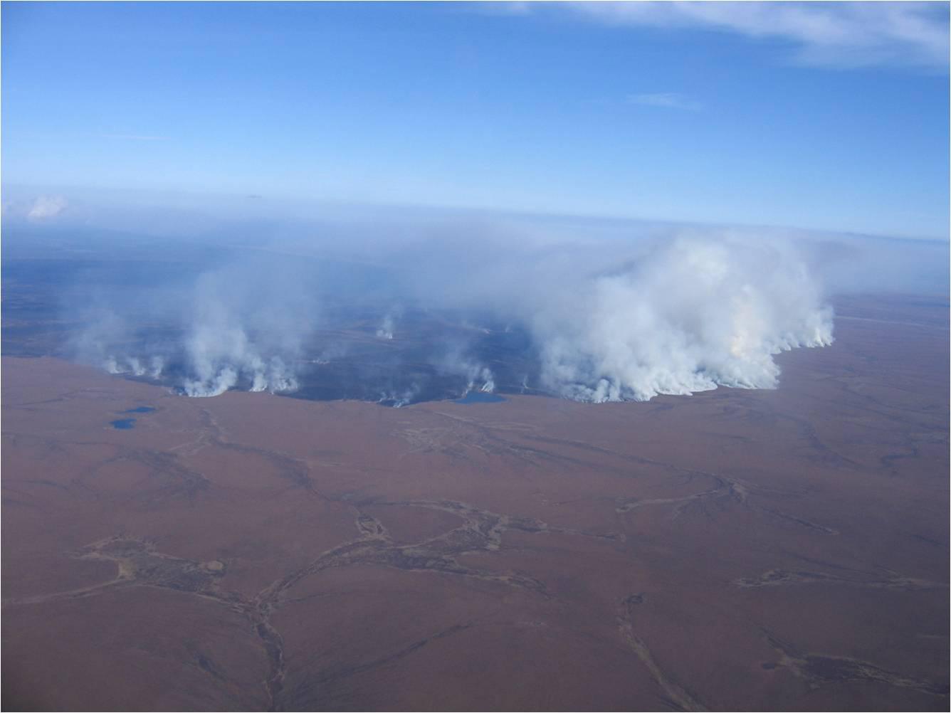2007. Anaktuvuk River Fire, North Slope, Alaska. (Alaska Fire Service).