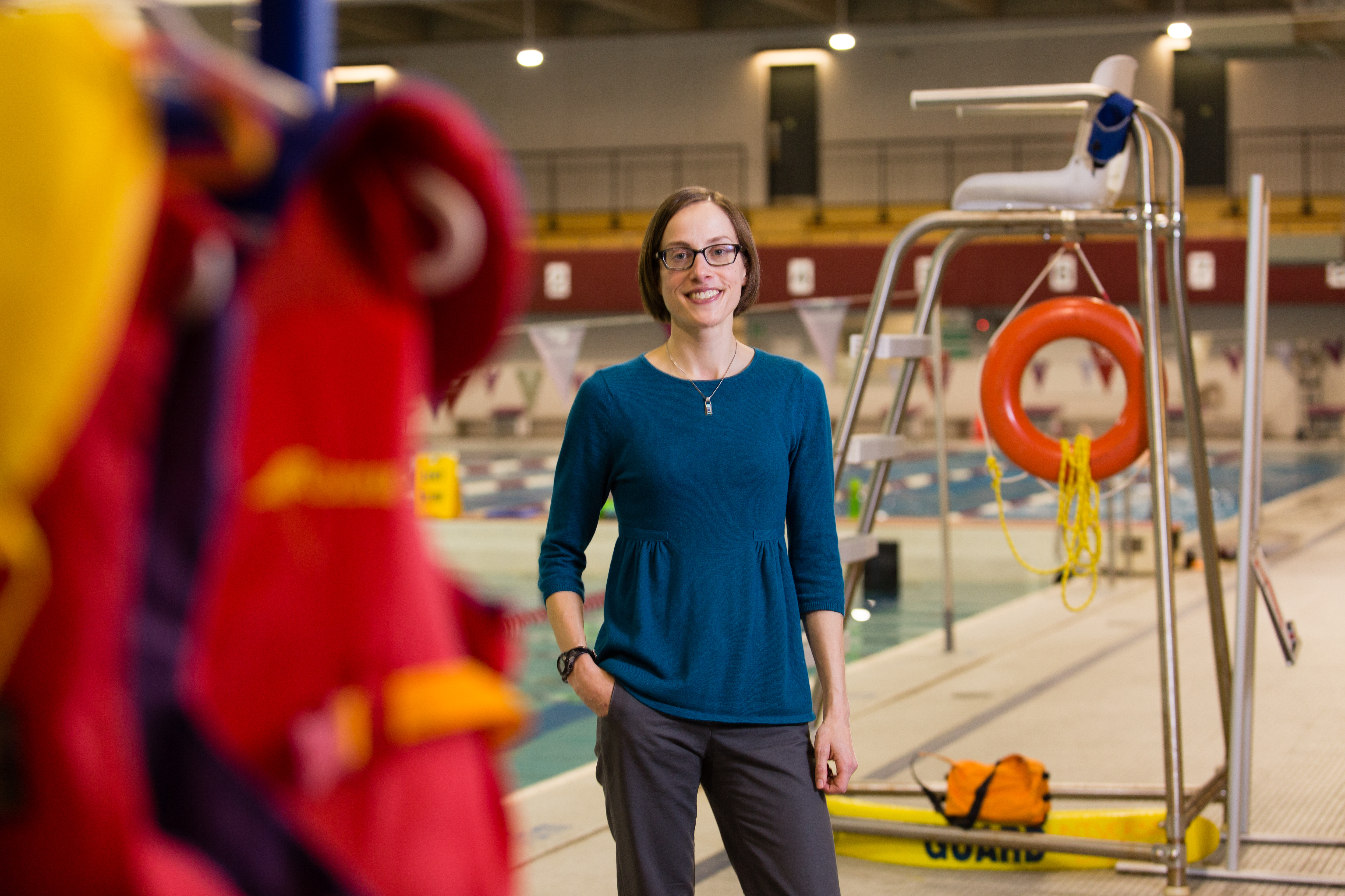 """""""So often organizations will say that the population in the North is too small to justify a unique intervention, or that it's too far away or too costly to do, but to me that's deeply problematic,"""" says the University of Ottawa's Audrey Giles. """"We really need to invest our time and resources in the places where the health inequity is most apparent."""" (Peter Thornton/ Courtesy University of Ottawa)"""