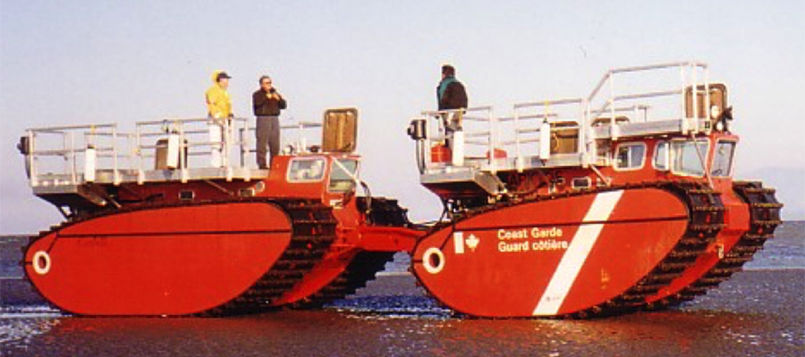 The Arktos evacuation craft were supposed to be used by the Canadian Coast Guard. Photo: Arktos Development Ltd.