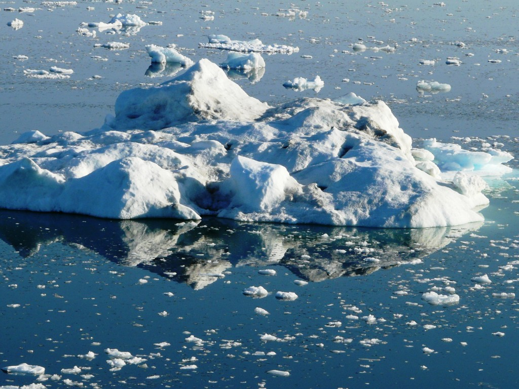… And the ice continues to melt. (Irene Quaile/Deutsche Welle)