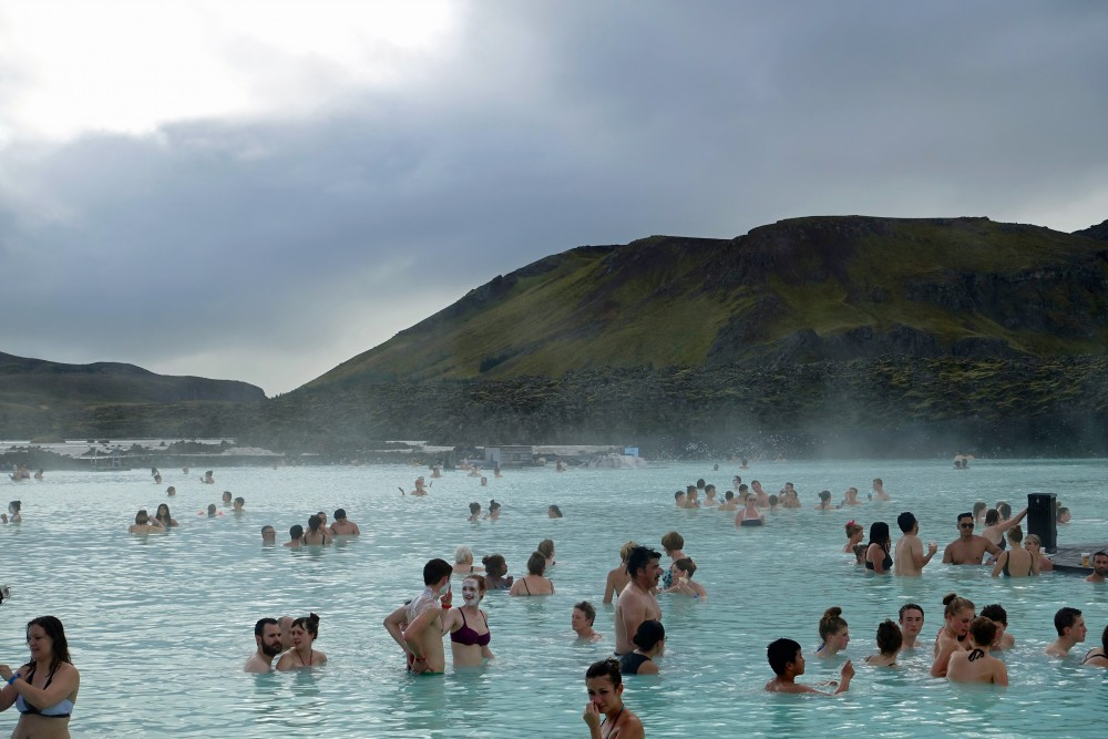 Blue Lagoon is one the many things that bring tourists to Iceland. (Trude Pettersen/The Independent Barents Observer)
