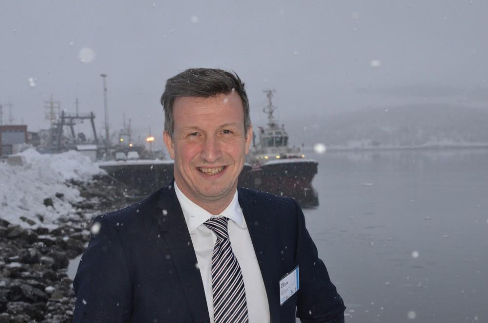Kjell Giæver is head of Petro Arctic. Photo: Thomas Nilsen